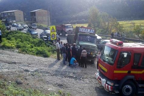 کاهش ۱۴ درصدی کشتهشدگان حوادثرانندگی در مازندران