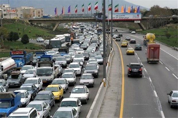 محدودیتهای ترافیکی محورها/ کاهش ۵.۹ درصدی تردد در جادهها