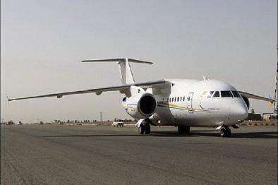 آتش گرفتن موتور هواپیمای اهواز- تهران