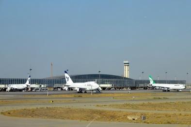 انجام نخستین عملیات De-Ice با شروع فصل سرما در فرودگاه بینالمللیامام