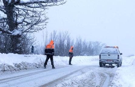 راهداری زمستانه برف روبی