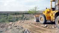 هشت هزار متر مربع از اراضی ملی در بروجرد رفع تصرف شد