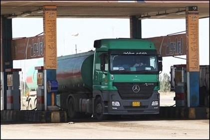 فیلم| صف گازوئیل در یک جایگاه سوخت