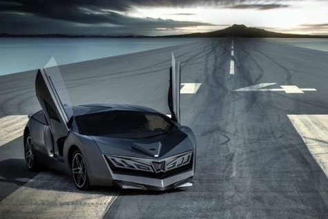 Qatars first homegrown supercar feels the heat for its distinctive design
