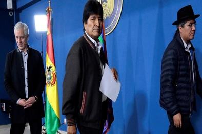 رئیسجمهور بولیوی به مکزیک پناهنده شد