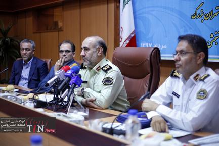 نشست رسانهای رییس پلیس پایتخت