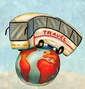 توقف تردد اتوبوسهای گردشگری در تهران