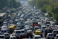 ترافیک سنگین در آزادراه تهران_کرج