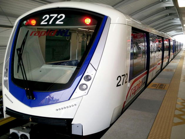 Bombardier delivers 14 Innovia trains for Kuala Lumpur metro