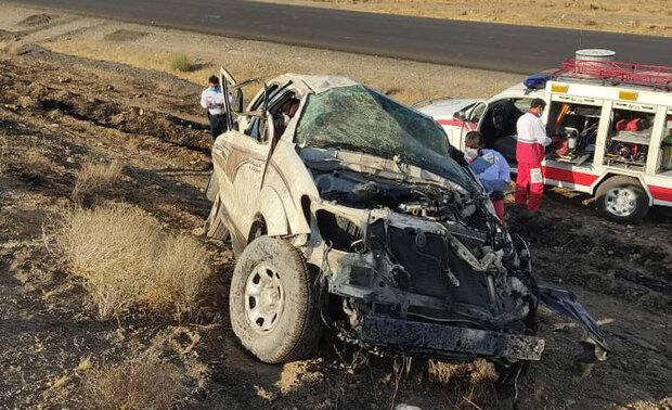 خواب آلودگی راننده ۳ نفر را به کام مرگ کشاند