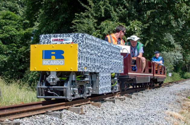 Ricardo team wins IMechE Railway Challenge on debut