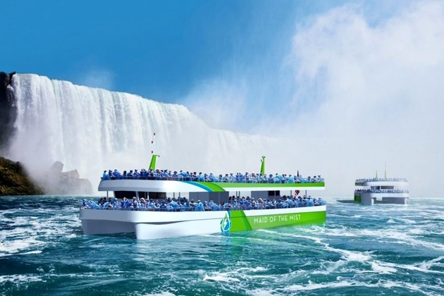Niagra Falls Tour Boat Operator Orders Battery-Powered Vessels