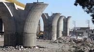 تلاش برای تکمیل پل روگذر تقاطع آزادگان- شهید نجفی رستگار