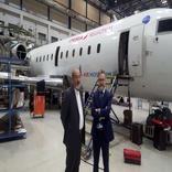 مذاکره مدیرعامل منطقه آزاد قشم با مدیران شرکت هواپیمایی ایر نوستروم اسپانیا