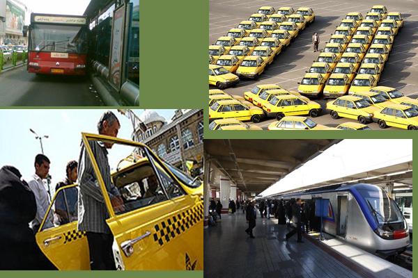کارکرد واقعی اتوبوس و مترو در تهران