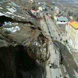 رانش زمین چهار خانه روستایی تخریب کرد