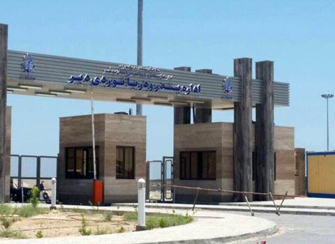۳۵۰ تن مواد غذایی از اسکله بندر دیر به مقصد قطر بارگیری شد