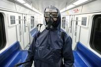 شستوشوی واگنهای مترو در تهران
