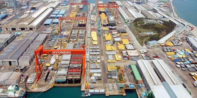 HHI to close offshore facilities shipyard amid lack of orders