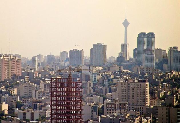 افزایش غلظت ازن در هوای تهران طی بعدازظهر امروز