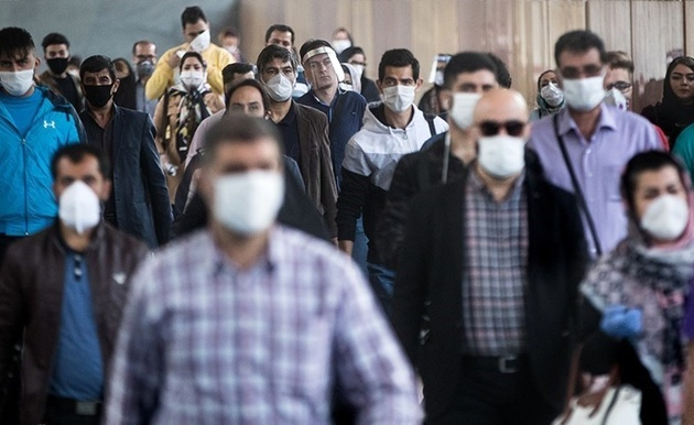 استفاده از ماسک در مترو تنها دو روز جدی گرفته شد!