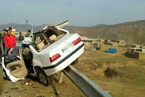 کشته شدن ۱۲۱ نفر در تصادفات جادهای اردبیل