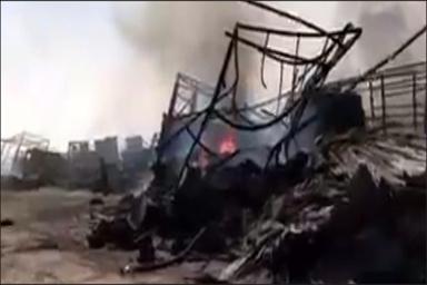 خطر توقف تانکرهای سوخت در مرزها+ فیلم جدید از وضعیت گمرک اسلام قلعه