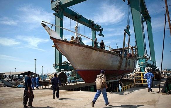 تردد ۲۳۰۰ کشتی به دروازه طلایی اقتصاد ایران