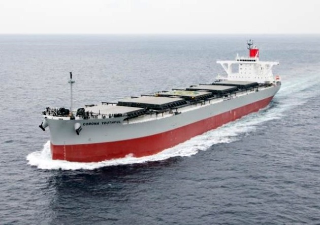 """K"" LINE Deploys Binary Cycle Power Generation System on Coal carrier ""CORONA YOUTHFUL"" and Starts Onboard Trial"