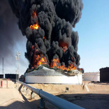 Second fire limits storage capacity at Libyan oil port
