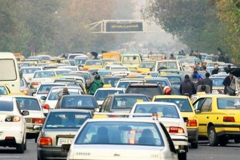 ترافیک خارج از توان تهران
