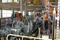 Iran Khodro produces car engine