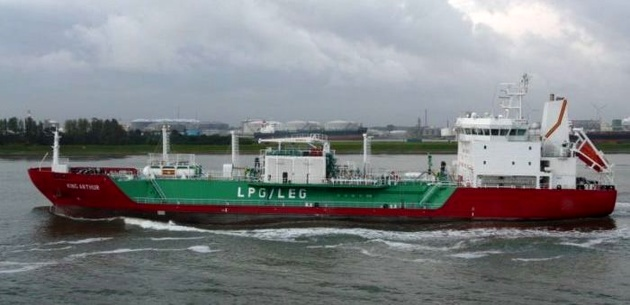 Container ship collides with LPG tanker off Gibraltar