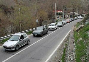 محدودیتهای ترافیکی پلیس راه  در  جاده های مازندران