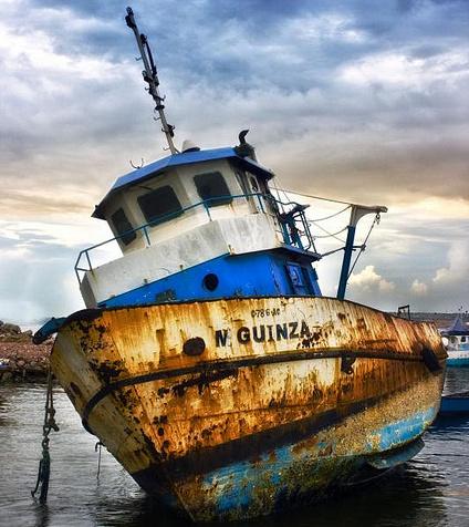 خطرات پایان عمر یک شناور