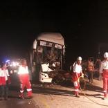 اسامی 56 مصدوم حادثه امروز اتوبوس مشهد- یزد