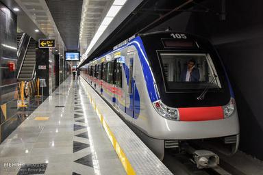 آغاز بهره برداری از ورودی جنوبی ایستگاه مترو دروازه شمیران