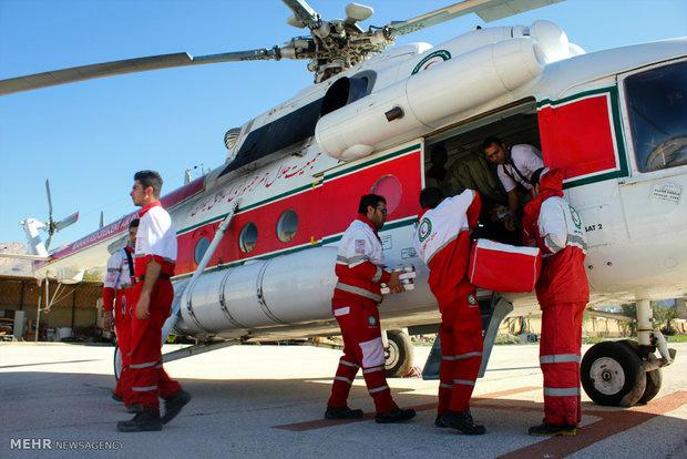 امداد هوایی ایران برای کمکرسانی مجهز نیست
