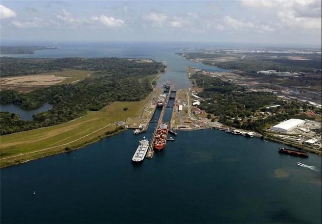 کاهش تردد کشتیهای  آمریکایی از کانال پاناما