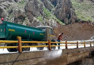 نونوار شدن پلهای مازندران