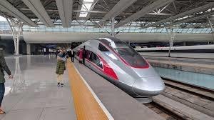 قطار تندرو با بوژی گیج متغیر، آخرین دستاورد چین در قطارهای مسافری