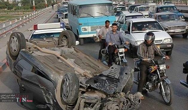 واژگونی خودروسواری درمسیرشاهرود - میامی سه کشته ویک زخمی داشت