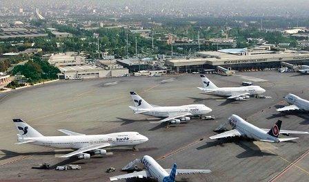 تعطیلی 5 ساعته فرودگاههای استان تهران