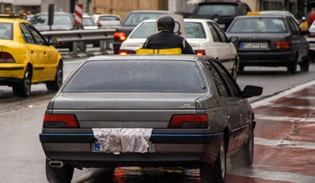 اجرای طرح ویژه «برخورد با پلاکهای مخدوش» در تهران