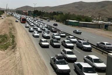 محورهای لرستان زیر بار ترافیک سنگین میرود