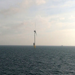 First Turbine Installed at World's Largest Offshore Wind Farm