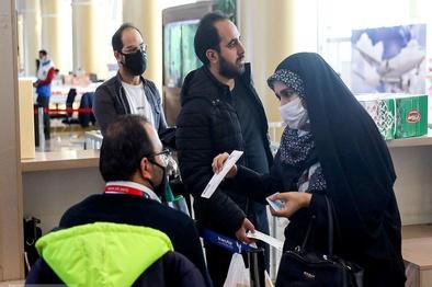 استفاده از ماسک در فرودگاه مشهد الزامی است