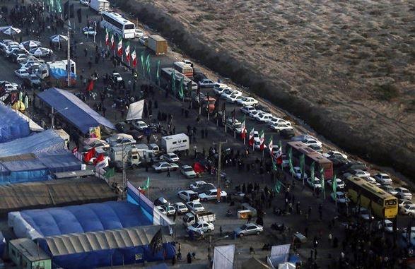 توفان جمعیتی در مرز مهران