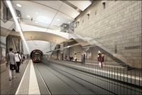 عکس| فاصلهگذاری اجتماعی در ایستگاههای مترو خارج از کشور