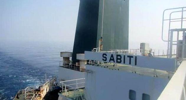کشتی «سابیتی» وارد آبهای ایران شد